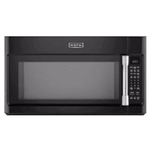 """Maytag Heritage - 30"""" Black Over the Counter Microwave MMV5219DE"""