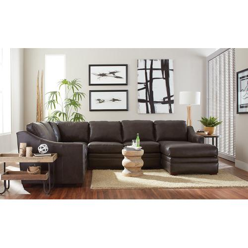 Craftmaster L9 Custom Leather Sectional