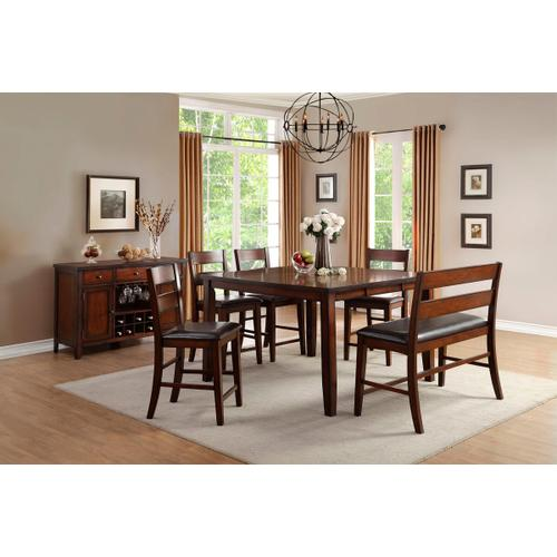 Mantello 5pc. Counter Height Table Set
