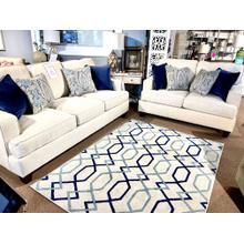 See Details - Bassett Stain Resistant Sofa & Loveseat