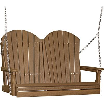 Adirondack Swing 4' Premium Antique Mahogany