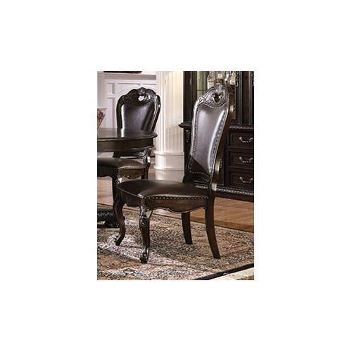 Side Chair, Dark Cherry Finish