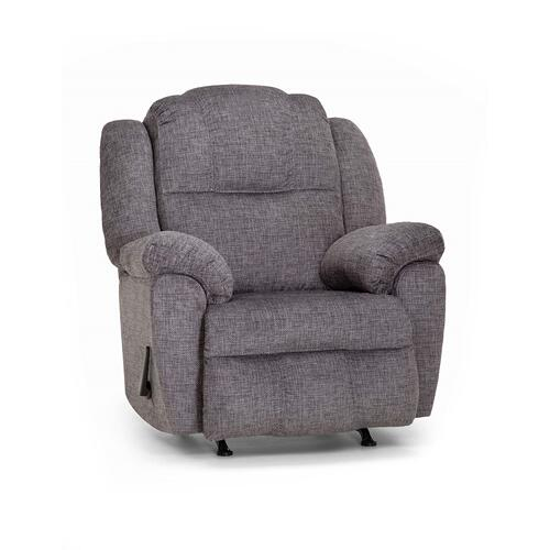 Franklin Furniture - Victory Rocker Recliner - Gray