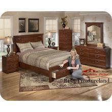 Ashley B155 Treasureland Bedroom set Houston Texas USA Aztec Furniture