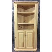 See Details - Maine Made Corner Buffet With Open Top 26W X 72H X 26D Pine Unfinished