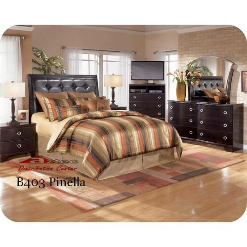 Ashley Furniture - Ashley B403 Pinella Bedroom set Houston Texas USA Aztec Furniture