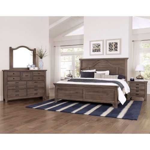 Queen Bungalow Folkstone Mantel Bed