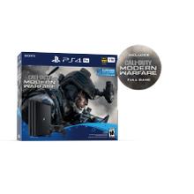View Product - Sony Playstation 4 Pro, 1TB, Modern Warfare Bundle