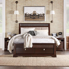 Queen Bed, Dresser, Mirror and 2 Nightstands