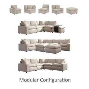 Gallery - Modular 5 Piece Sectional