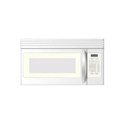 Gallery - Crosley 1.6 Cu.Ft. Over The Range White Microwave