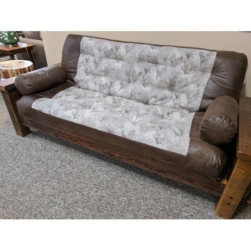 Best Craft Furniture - Barnwood Full EZ Bed Futon (Pick Your Fabric!)