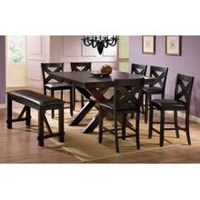 See Details - X Base Tall Table