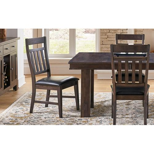 A America - Bremerton Grey Table and 6 Chairs