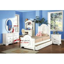 Acme 01680 White Finish Bedroom Set Houston Texas USA Aztec Furniture
