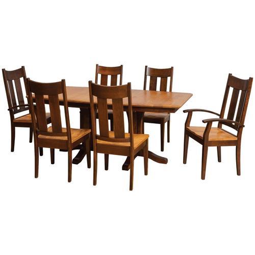 Daniel's Amish Furniture - Tampa Dining Groupset