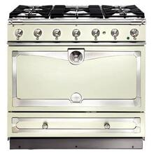 Ivory Albertine 90 with Satin Chrome Accents