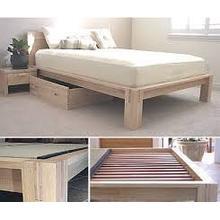 Tatami Tall Platform Bed -- Twin XL
