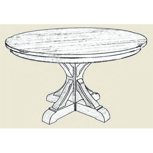 Amish Craftsman - Barn Beam Dining Collection