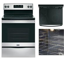 Crosley ELECTRIC RANGE 5.3 Cu. Ft.-STAINLESS STEEL