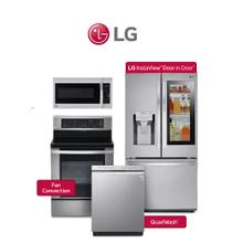LG 4 Piece Stainless Package. Price Valid Thru 8/26/20
