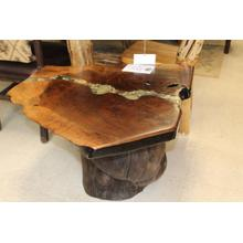 See Details - One Of A Kind Walnut Table
