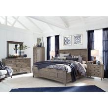 See Details - Queen Bed, Dresser, Mirror, Chest and Nightstand
