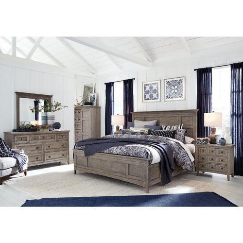 Magnussen Home - Queen Bed, Dresser, Mirror, Chest and Nightstand