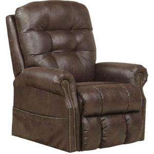 Catnapper - Ramsey Power Lift Recliner Lay Out Recliner with Heat/Massage