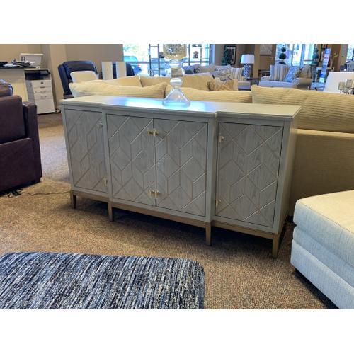 Bassett Mirror Company - Perrine Server, Dining Table & Cabinet