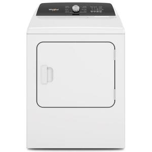 Whirlpool 7.0-cu ft Electric Dryer with Moisture Sensing and Steam Product Image