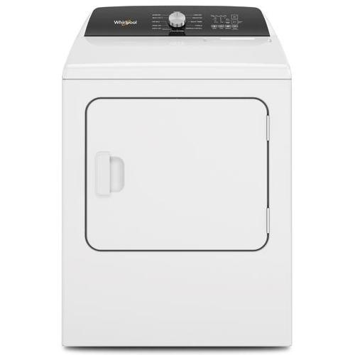 Whirlpool - Whirlpool 7.0-cu ft Electric Dryer with Moisture Sensing and Steam