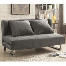 Coaster Sofa Sleeper, Vera Essence Collection, Grey Finish