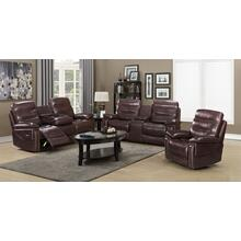 CAYMAN Brown Sofa, Loveseat and Recliner