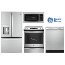 "GE 36"" Counter-Depth W/ Slide-In Range"