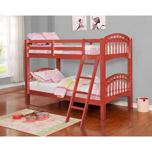 Rose Gold Twin over Twin Bunkbed