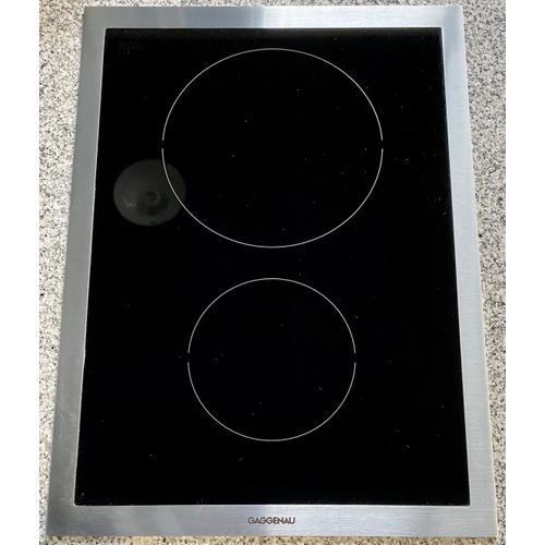 Gaggenau VI424610   Vario induction cooktop 400 series VI 424 610 Stainless steel frame Width 15 ''