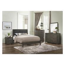 Edina Qn Bed, Dresser, Mirror. Chest and Nightstand