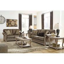 See Details - RICHBURG - COFFE SOFA & LOVE SEAT