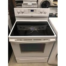 Used Whirlpool Smoothtop Electric Range