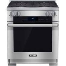 "MIELE 30"" LP DUAL FUEL RANGE - FLOOR MODEL - NEVER USED"