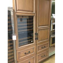 "CLOSEOUT SPECIAL!   27"" Built-in Panel Ready Fully (Panel not Included) Integrated Column Refrigerator - IC-27R-RH  SN# 3150160 - Showroom Demo with Limited Manufacturer Warranty"