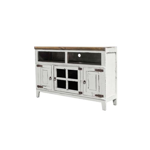 RUSTIC IMPORTS HO-COM8E Rustic Antique White Console Chest