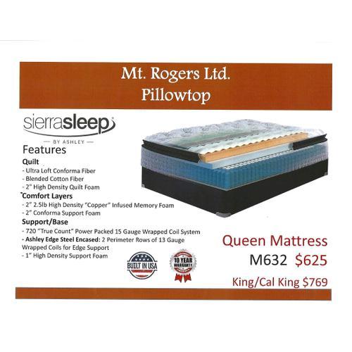 Ashley Mt. Rogers Ltd. Pillowtop by Sierra Sleep