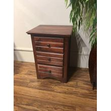 See Details - 3 Drawer Nightstand Cocoa