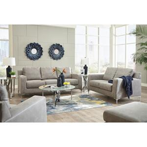 Ryler- Steel Sofa and Loveseat