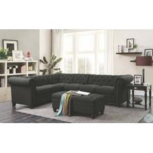 Roy Traditional Grey 3 Piece Sectional