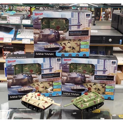 Mini Tank, Radio controlled battle tanks