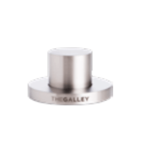 The Galley Tap - Galley Deck Switch in Matte Stainless Steel