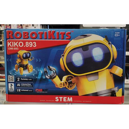 KIKO.893, The Exploring Robot Friend